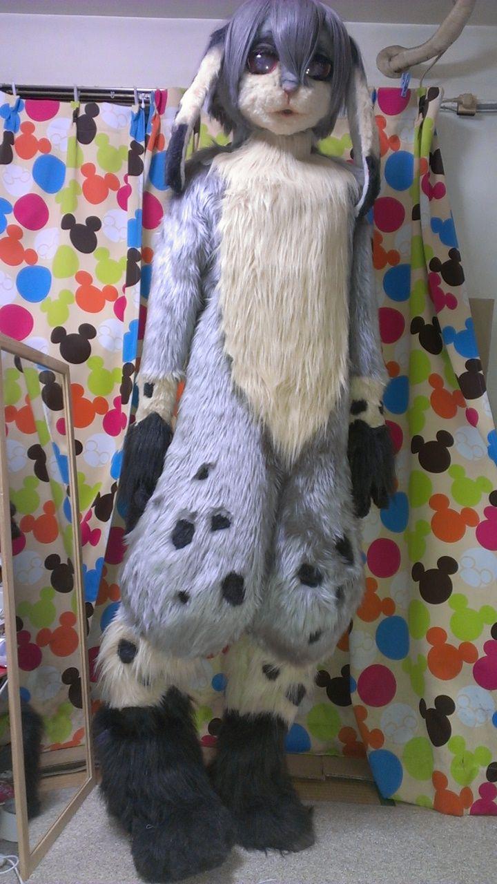 Bunny fursuit by xpigux & 38 best Costuming images on Pinterest | Costume ideas Animal ...