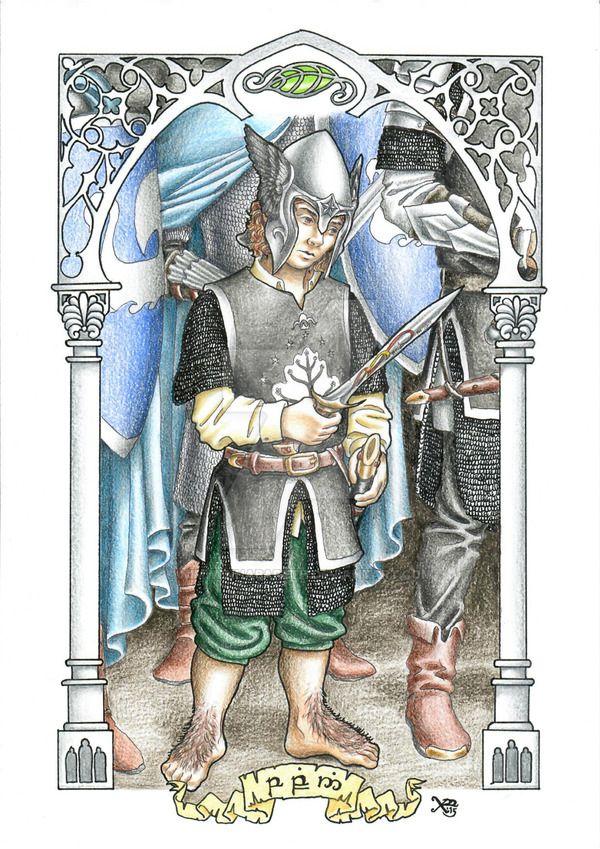 Pin Pippin By Nimwenhabareth Tolkien Arte