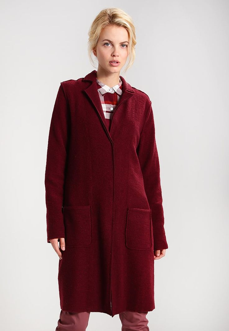 Mavi Classic coat - prune - Zalando.co.uk