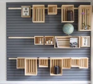 Hang Anything On Your Wall with a French Cleat Storage System | MAARJA MARGA                                                                                                                                                                                 More