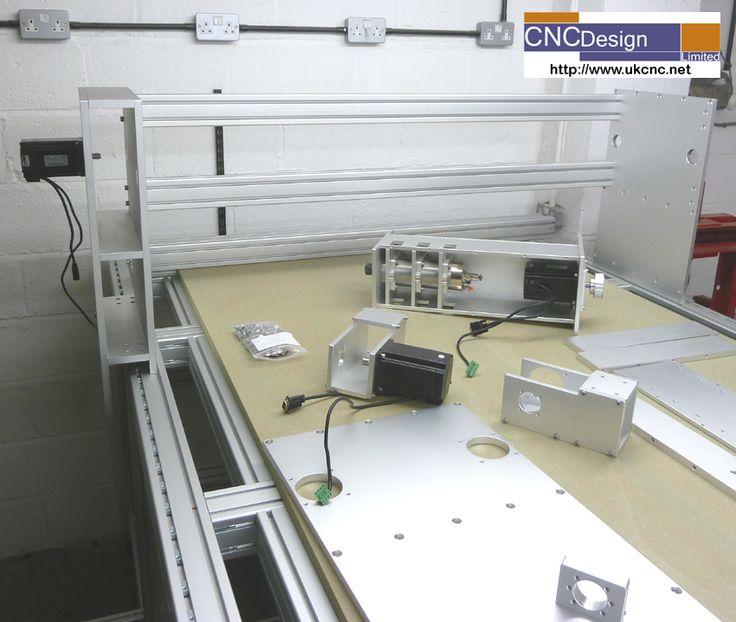 CNC Machine Progress Pictures