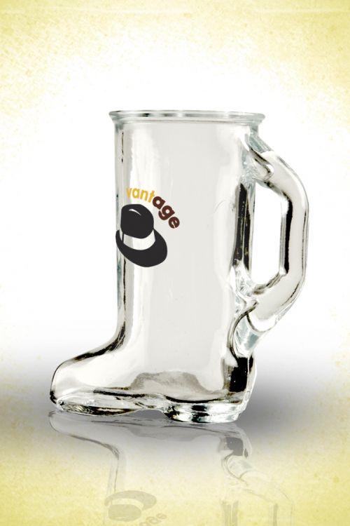 Boot Shot Glass  1.5oz