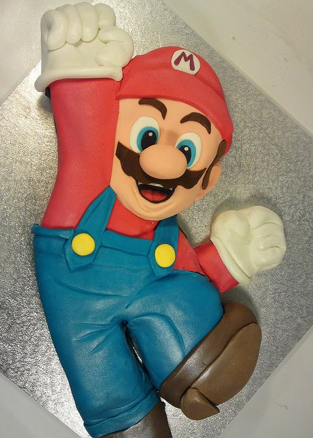 more creative cake art character cakes (9) by www.creativecakeart.com.au, via Flickr