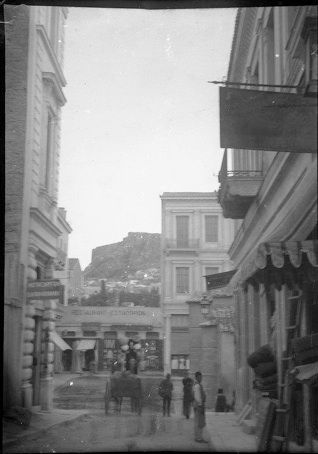Old Athens Photos Ermou Street. Back to Old Athens Photos Ερμού και Καλαμιώτου 1892