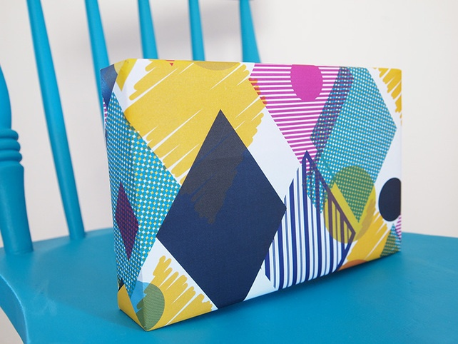 Wrapping Paper Geometric Colourful Gift Wrap Extra Large Sheets (Sam Osborne)