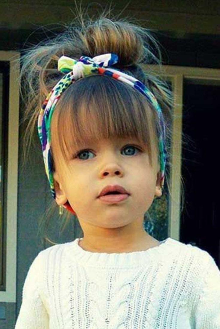 Coupe cheveux enfant fille en 2019 Coiffure bébé fille