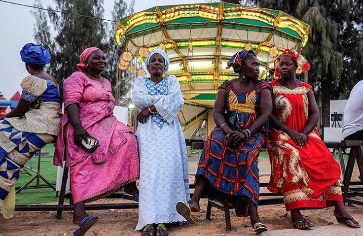 Dakar: Merry-go -round of beautiful boubous w/@ricci_s  #Senegal #ramadan2016