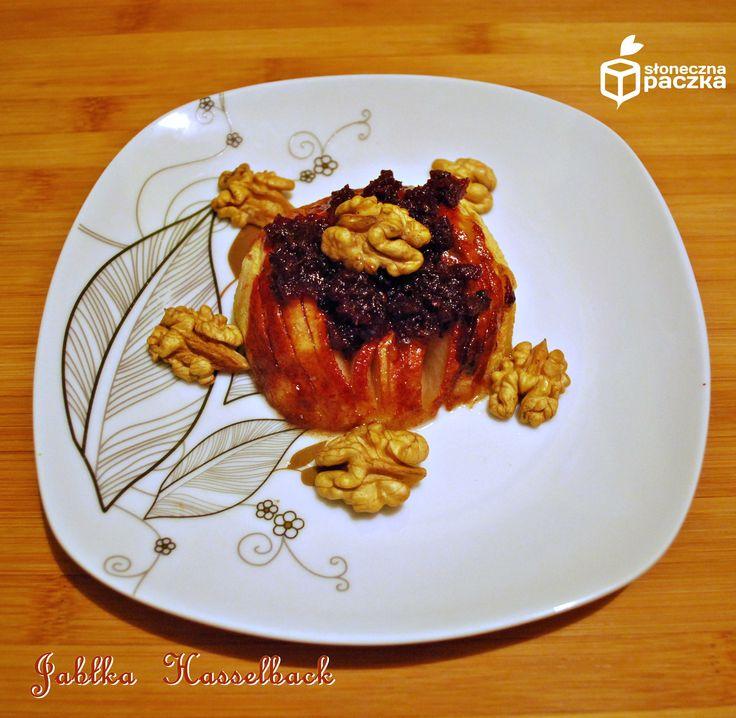 jabłka Hasselback www.slonecznapaczka.pl