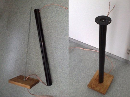 Create Your Own Elegant Speaker Stands