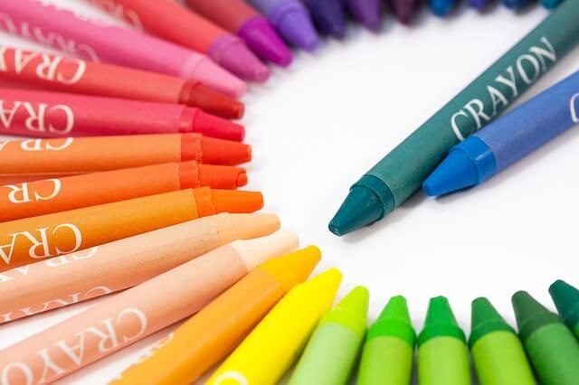 Crayons: Clean the stains with... Mayonnaise
