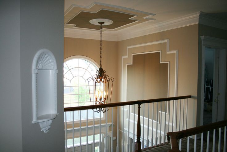 Two Story Foyer Trim Work : Best images about two story living rooms on pinterest