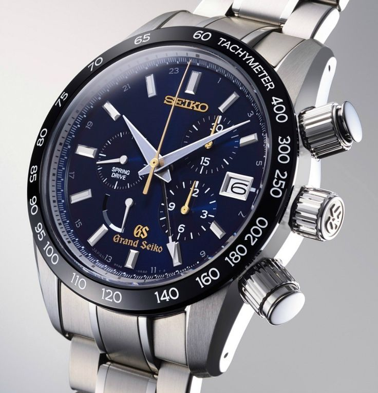 """""""Grand Seiko Spring Drive Chronograph GMT SBGC013 Limited Edition Watch"""" via @watchville"""