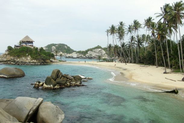 30 of the Coolest Beaches in the World that you must visit in 2013,Tayrona National Park, Colombia