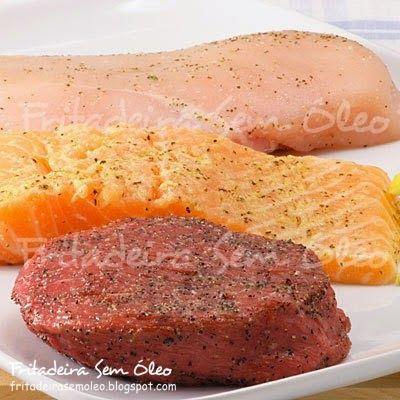 Como preparar carnes em bifes e filés na AirFryer? - Fritadeira sem Óleo - AirFryer