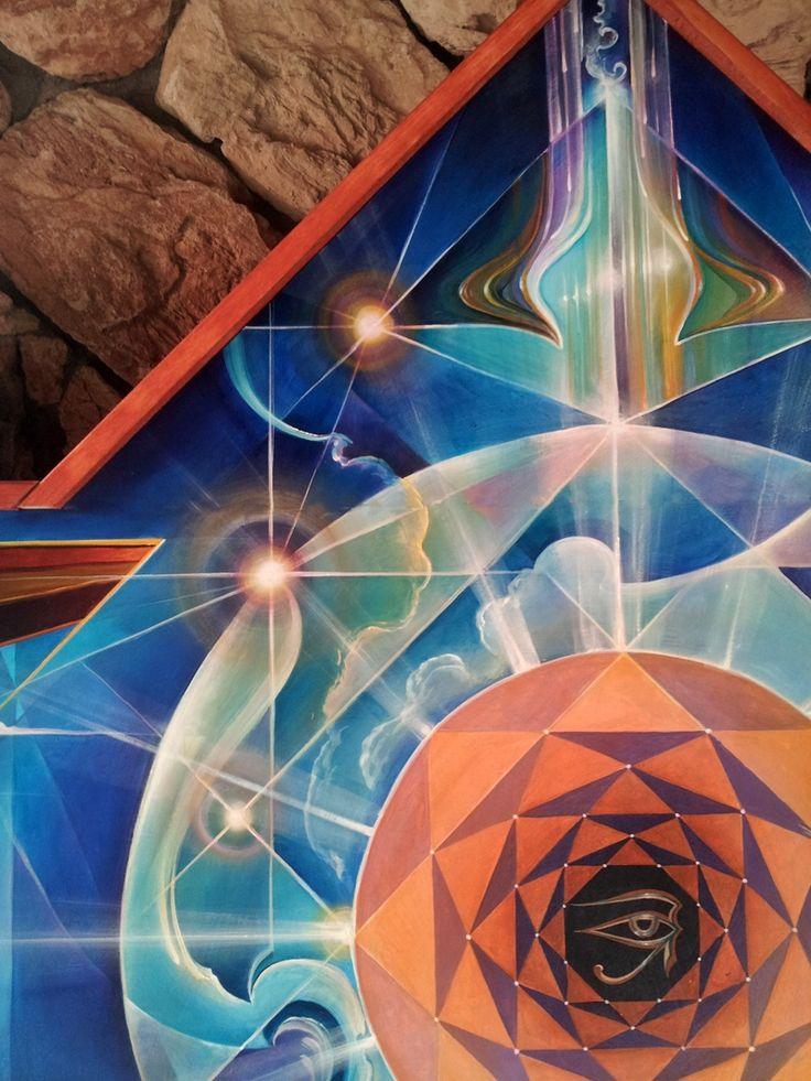 Eye of Horus Mural Panel