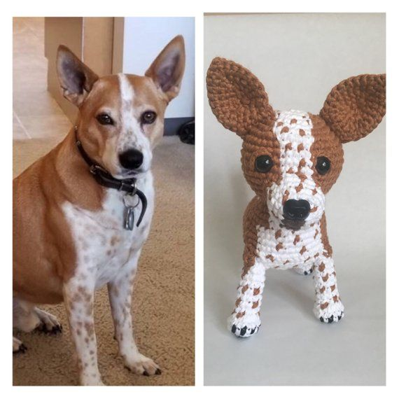 Crochet Corgi Custom Corgi Stuffed Dog Pet Replica Pet Memorial Amigurumi Dog Custom Pet Plush Animal Plush Pet Crochet Dog Puppy Dogs Pet Memorials Pitbulls