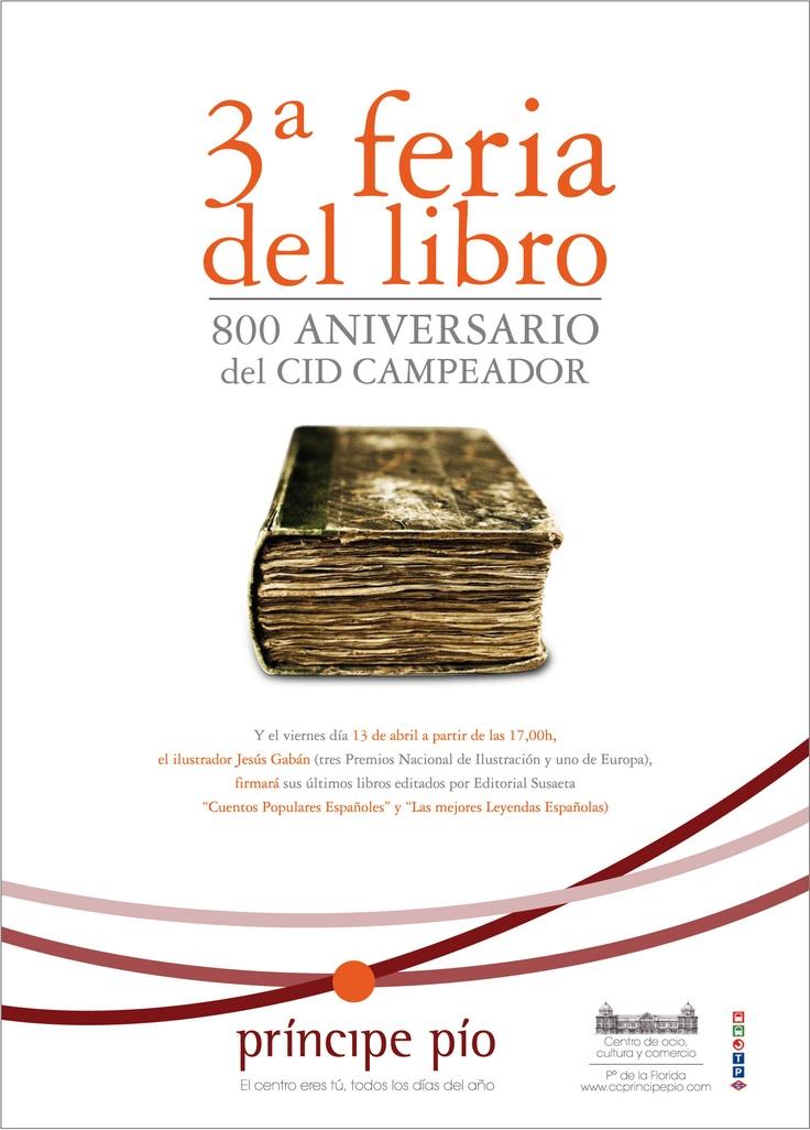 Diseño de la creatividad de la 3ª Feria del Libro. Más en http://www.lacaseta.com/ #Diseno #Design #ideas #Creatividad