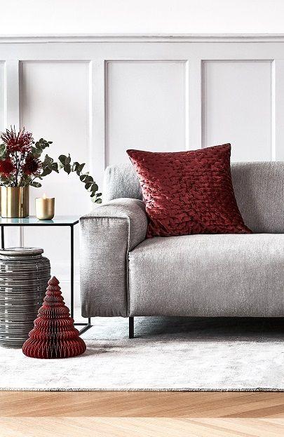Die besten 25+ graues Samtsofa Ideen auf Pinterest Dunkles sofa - wohnzimmer grau bordeaux