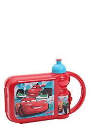 CARS LUNCH BOX AND JUICE BOTTLE SET