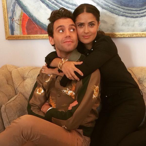 Mika And Salma Hayek