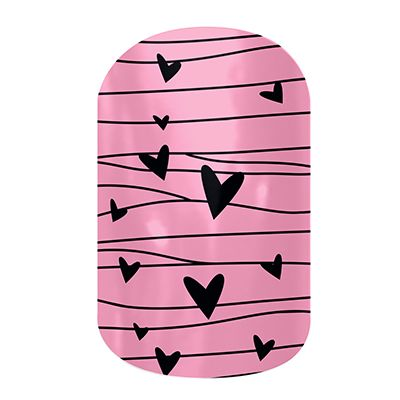 Twitterpated Jamberry Nails Wraps. Lasts up to 2 weeks on fingernails and 4 weeks on toenails. Buy it here: http://easycutenails.jamberrynails.net/home/ProductDetail.aspx?id=2286#.UsRm6bTWvCQ