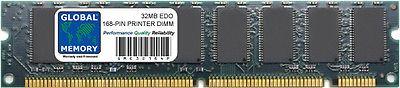 32MB EDO 168-PIN DIMM PRINTER MEMORY RAM ( SHARP  C6252A )
