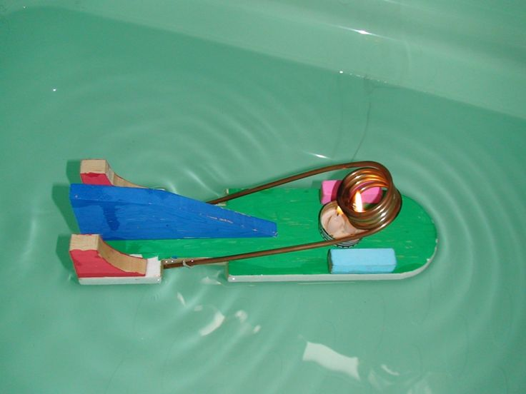 "I first saw the idea for this toy boat in the Japanese animated movie, ""Ponyo"".  I found that actually this ""Pop pop"" or ""Putt Putt"" boat..."