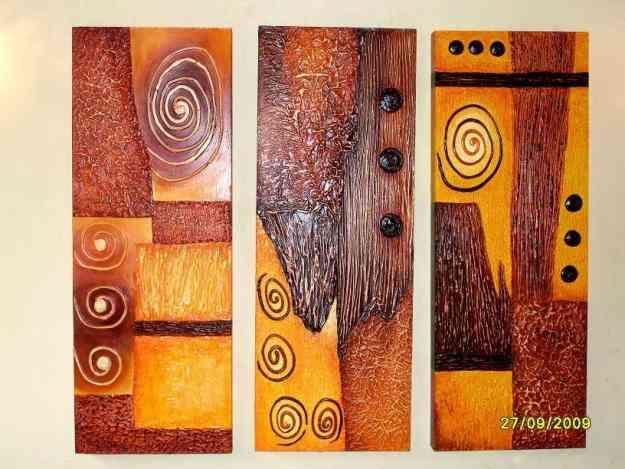 Cuadros con texturas abstractos frutas buscar con google - Cuadros modernos con texturas ...