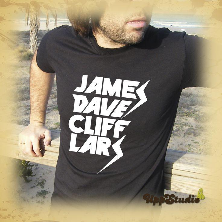 Camiseta #Metallica #JamesHetfield #DaveMustaine #CliffBurton #LarsUlrich #T-Shirt #Tee #Diseño #Design con envío GRATIS sólo en www.UppStudio.com