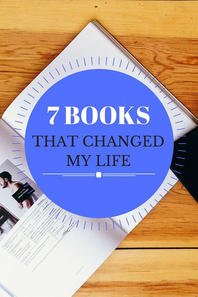 In this article, I'll introduce you to 7 books that have changed my life in one way or another. These books have mostly impacted my way of thinking and therefore, also changed the actions that I've taken in my life.