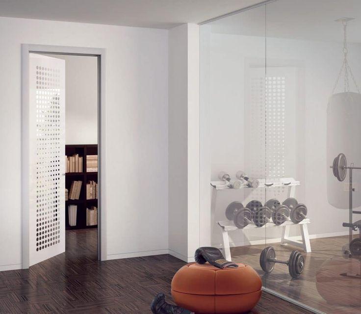 """Porte Vetro Henry Glass Il perfetto connubio tra arte e design, tra estetica e qualità, tra forma e funzione. Sistema brevettato """"tuttovetro""""."""