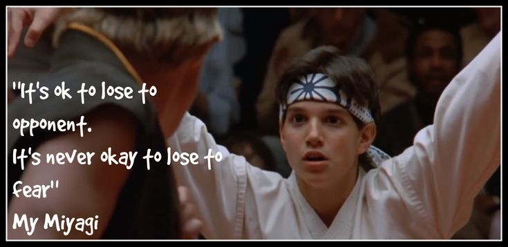 Karate Kid Quotes Best 31 Best Karate Kid Quotes Images On Pinterest  Kid Quotes The