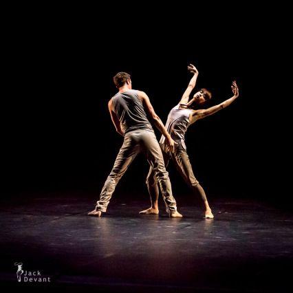 "Shoko Nakamura 中村祥子 and Michael Banzhaf in ""They"" by Tim Plegge, 2013 Season Opening Gala Staatsballett Berlin, Berlin, Germany (Sep 13, 2013) - Photographer Jack Devant"