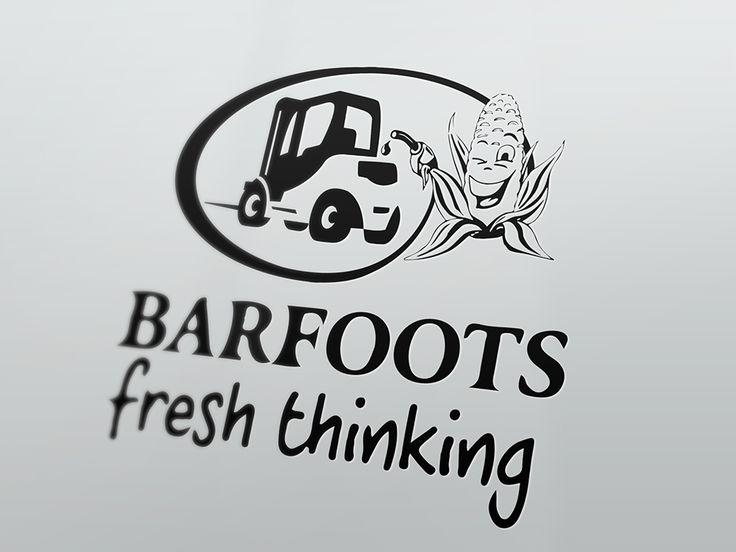 2014, Logo for BARFOOTS, webgrafika.pl