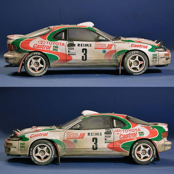 Toyota Celica 93 Monte-Carlo Winner | 1/24 | Tamiya
