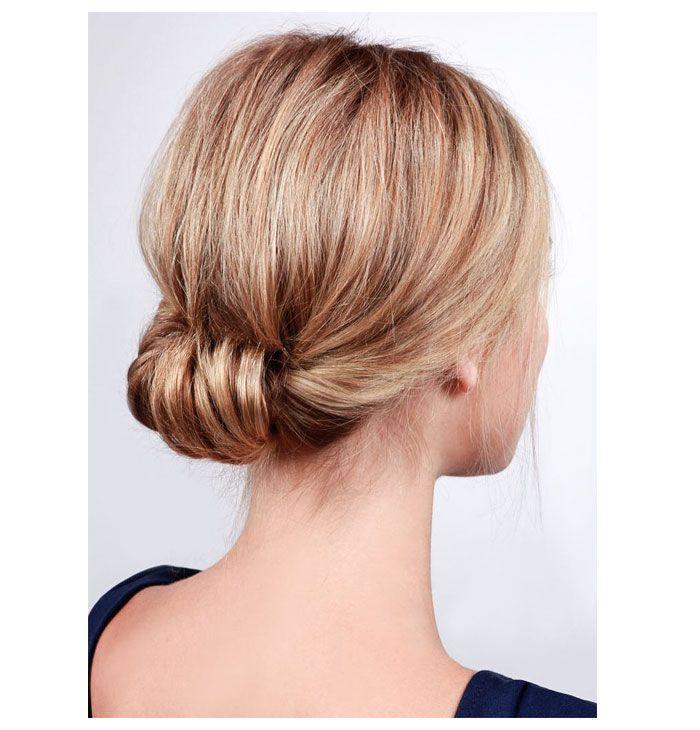Еще один способ красиво и легко собрать волосы