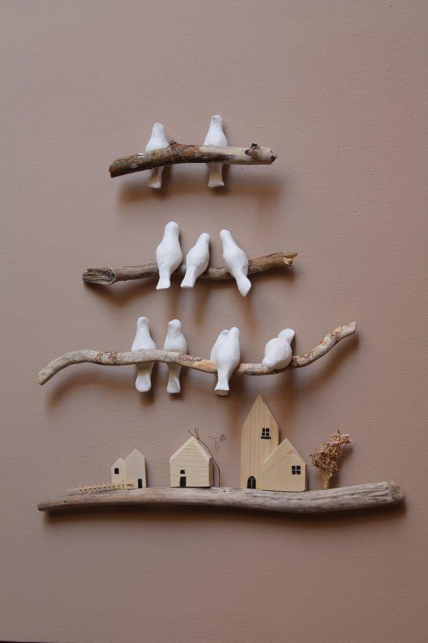 luckybirds duvar panosu Bu küçük kuşlar evinize şans getirsin...4 kademeli duvar panosu.isteğe göre...