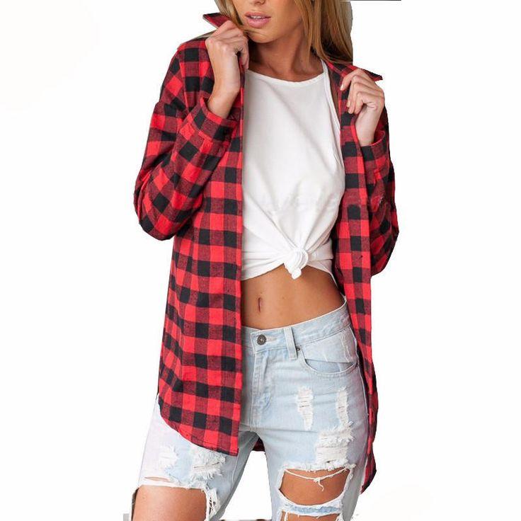 Women's Flannel Shirt – Rebel Style Shop