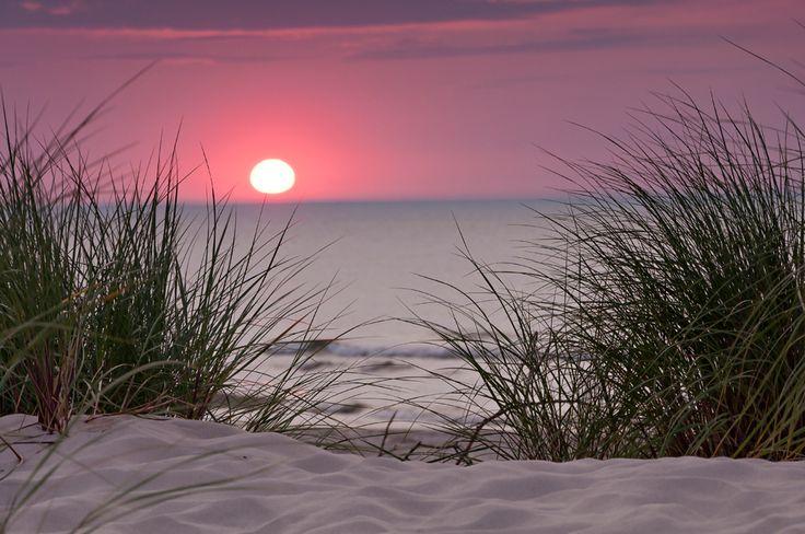 Zachód słońca - Łeba