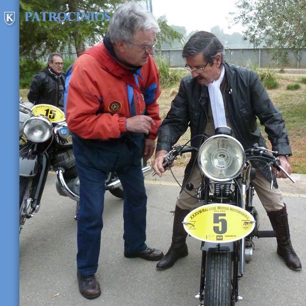 Rally de Motos Históricas de Terrasa con el apoyo de Relojes KRONOS