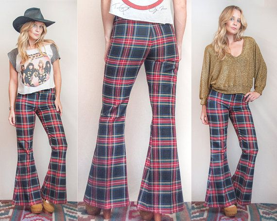 Your idea plaid bell bottoms