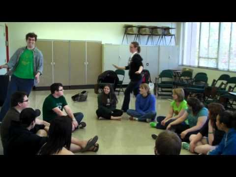 "The pinner said, ""Charlie Over the Ocean"" is a fun music circle game in the format of Duck-Duck-Goose, the leader walks around the circle singing the song while the group echos. Great way to hear individual voices without the pressure. ""singing alone and with others"" standard is covered here. This youtube channel has many classic folk-song elementary music games."