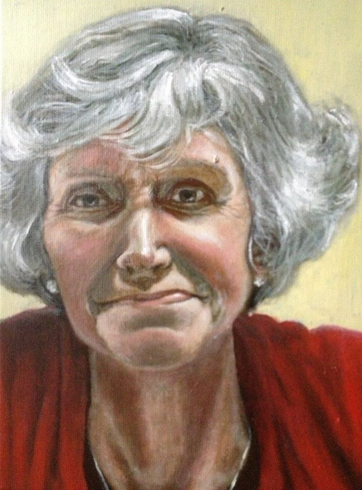 Mother (Oil on canvas)