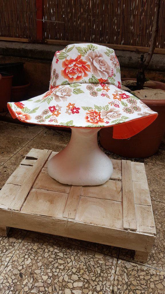cappello reversibile con tesa , by madame babette, 35,00 € su misshobby.com