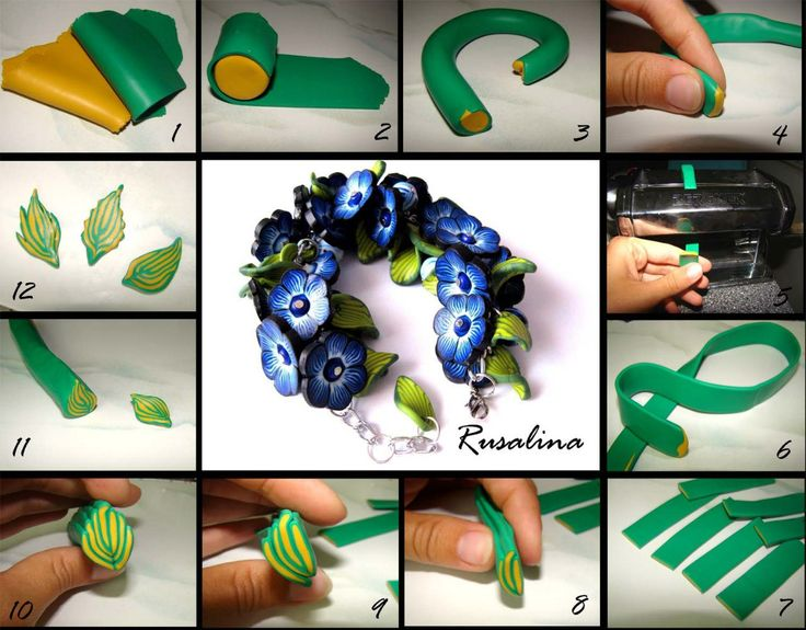 polymerclayfimo: photo tutorial by Rusalina