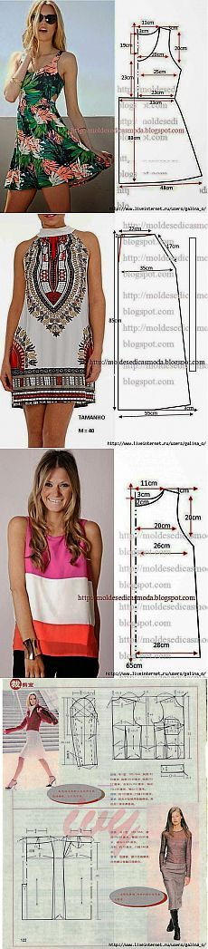 Sewing Patterns free top pattern, free sewing pattern, heather top pattern, flared top pattern Cortes y Costura moda fashin sew costura roupas patrones free pattern moldes gratis