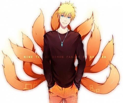 Nine Tails/Kyuubi Naruto Artwork