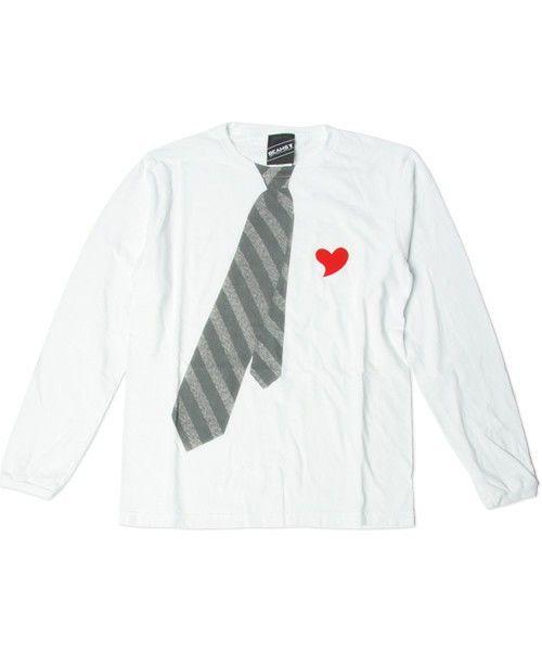 BEAMS TのBEAMS T / Necktie Tee L/Sです。こちらの商品はBEAMS Online Shopにて通販購入可能です。