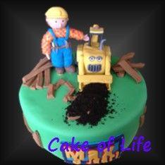 #bobdebouwer #scoop #verjaardag #kinderfeest #taart #plank #aarde