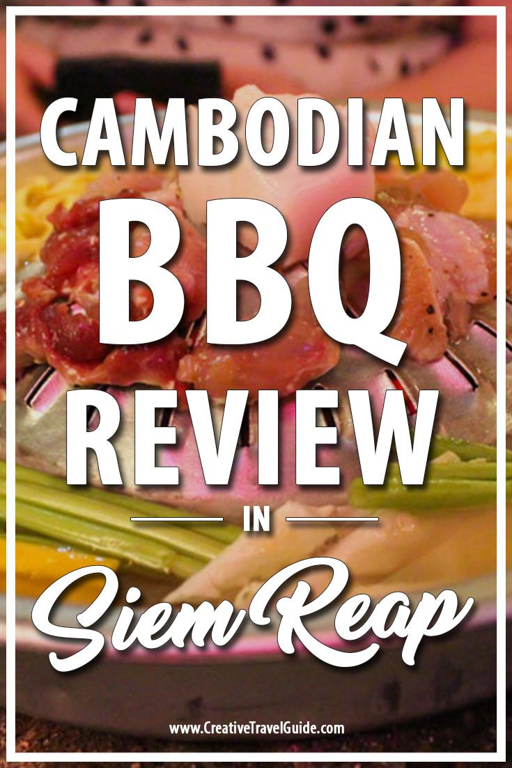 Located just off the popular pub street, the Cambodian BBQ is a brilliant experience for all those looking for an exciting meal. You are spoilt for choice when it comes to meats
